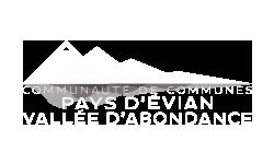 Logo CC Pays d'Évian - Vallée d'Abondance